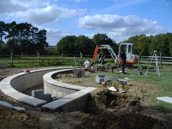Regular site visits ensure your garden is delivered exactly as planned