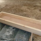Wooden-trough