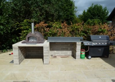 The build - outdoor kitchen