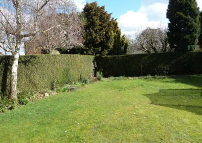 Cheltenham garden before
