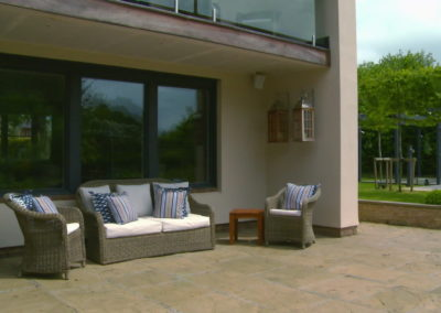 New design - Outside seating area